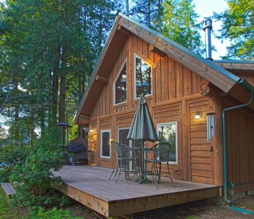 A resort cabin in Minnesota is a special place for vacationing.